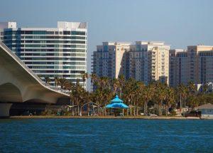 Sarasota bayfront skyline